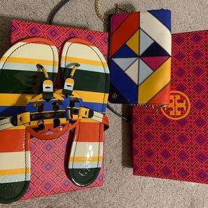 Limited edition Tory Burch Miller sandals